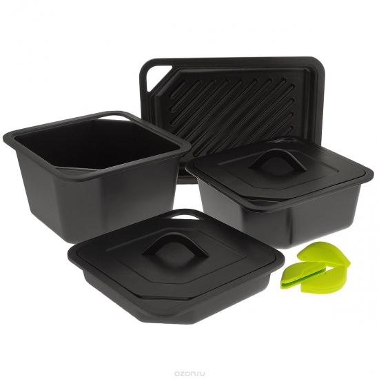 Набор посуды с анипригарным покрытием Quadro 1