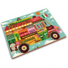 Стеклянная разделочная доска Joseph Joseph Food Truck Worktop Saver
