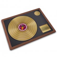 Стеклянная разделочная доска Joseph Joseph Gold Record