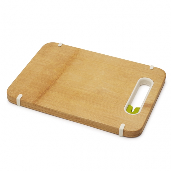 Бамбуковая разделочная доска с ножеточкой Joseph Joseph Slice & Sharpen™ Large 3
