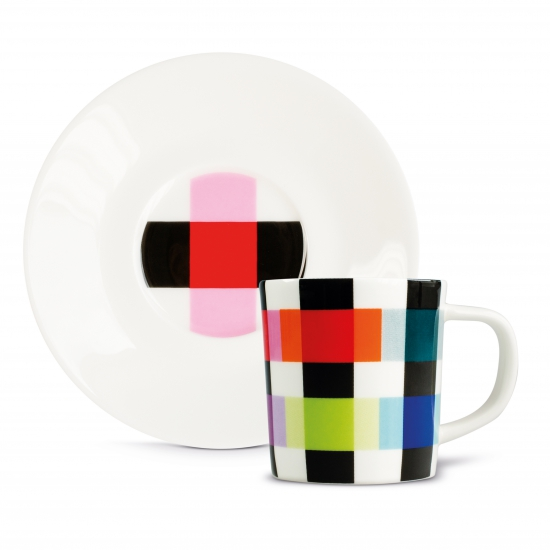 Чашка для эспрессо с блюдцем Espressotasse 6
