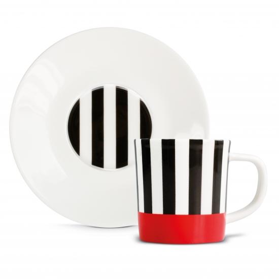 Чашка для эспрессо с блюдцем Espressotasse 8