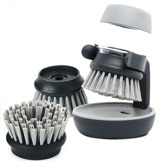 Комплект щетка для мытья посуды + насадки Joseph Joseph Palm Scrub™ & Nozzle 1