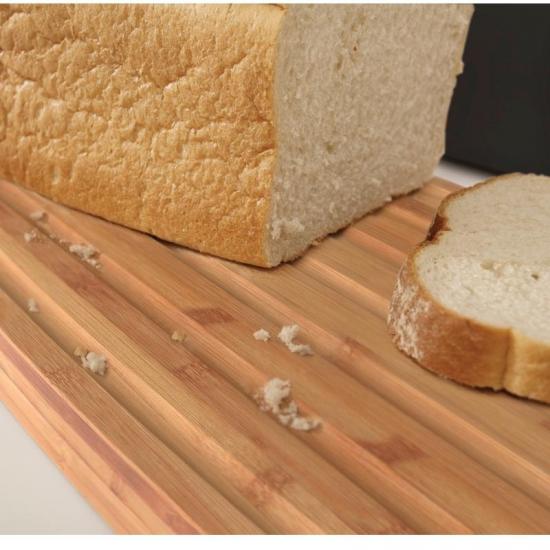 Стальная хлебница с бамбуковой разделочной доской-крышкой Joseph Joseph Steel Bread Bin 3