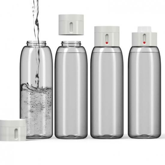 Бутылочка для воды со счетчиком количества выпитого объема Joseph Joseph Dot 1