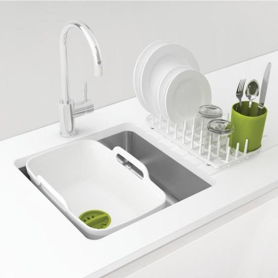 Комплект из 3 предметов для мойки и сушки посуды Joseph Joseph Wash&Drain™ Plus 1