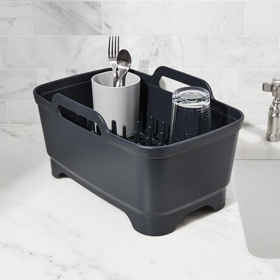 Комплект из 3 предметов для мойки и сушки посуды Joseph Joseph Wash&Drain™ Plus 10