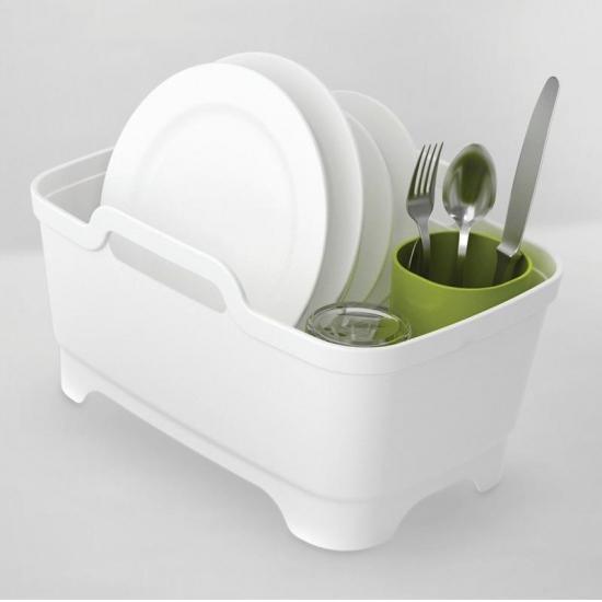 Комплект из 3 предметов для мойки и сушки посуды Joseph Joseph Wash&Drain™ Plus 4