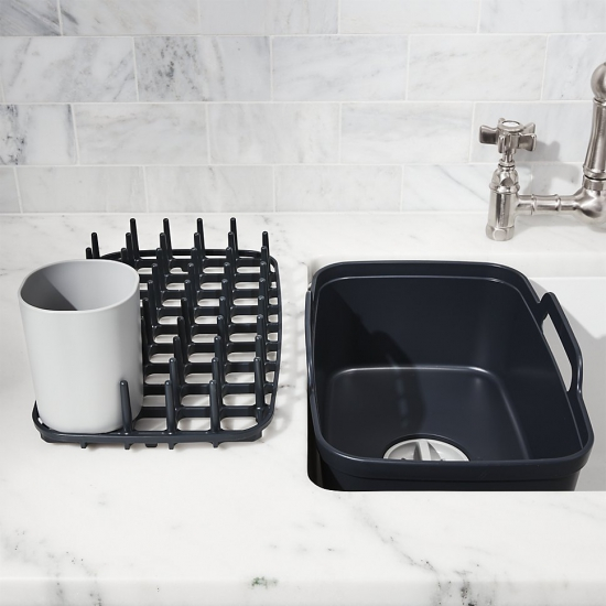 Комплект из 3 предметов для мойки и сушки посуды Joseph Joseph Wash&Drain™ Plus 9
