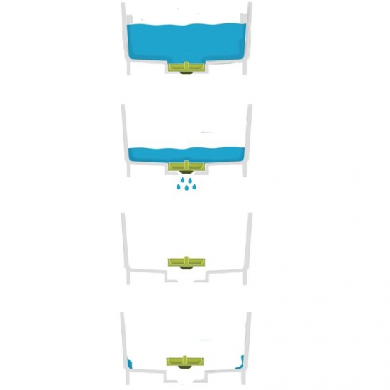 Комплект из 3 предметов для мойки и сушки посуды Joseph Joseph Wash&Drain™ Plus 6
