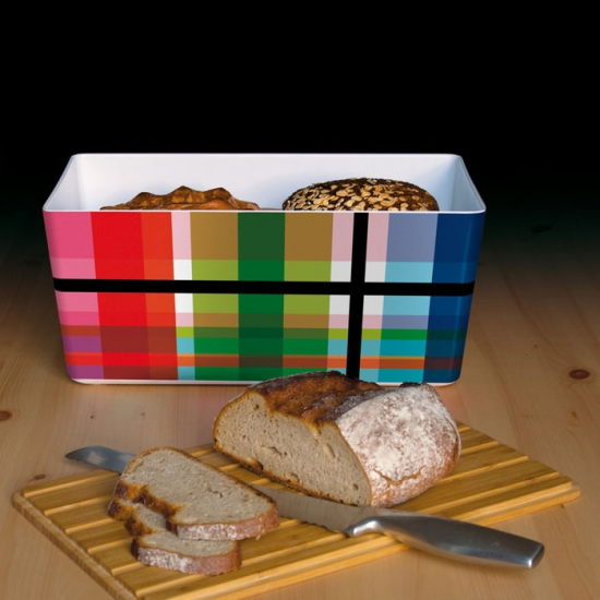 Хлебница Bread box with bamboo lid 3