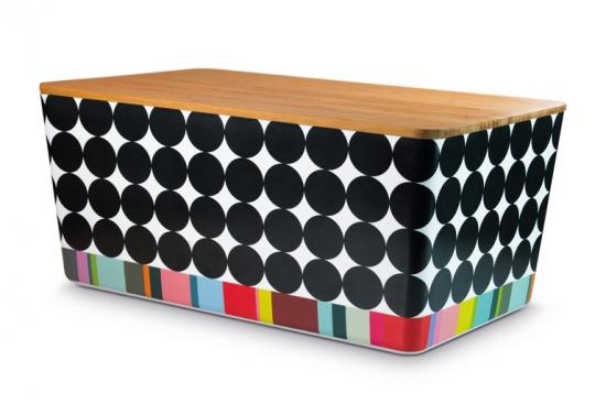 Хлебница Bread box with bamboo lid 2
