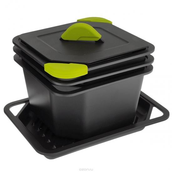 Набор посуды с анипригарным покрытием Quadro 2