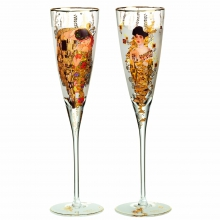 Бокалы для шампанского Set of Champagne Gustav Klimt