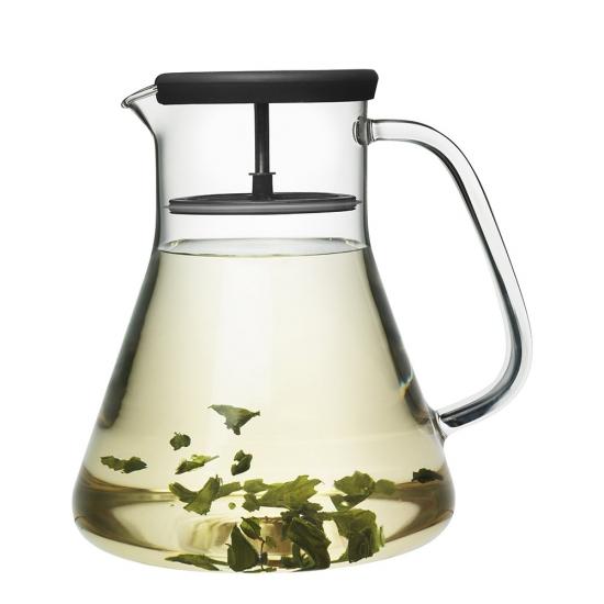 Чайник стеклянный Dancing Leaf 1