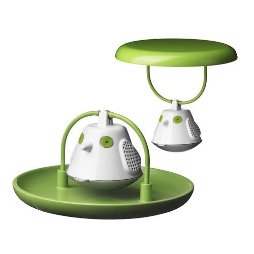 Кружка с емкостью для заваривания чая Birdie Swing Nest Birdie 6