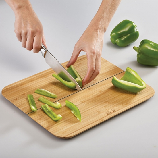 Комплект разделочная доска и нож Joseph Joseph Chop2Pot Bamboo and Slice&Sharpen Knives 2