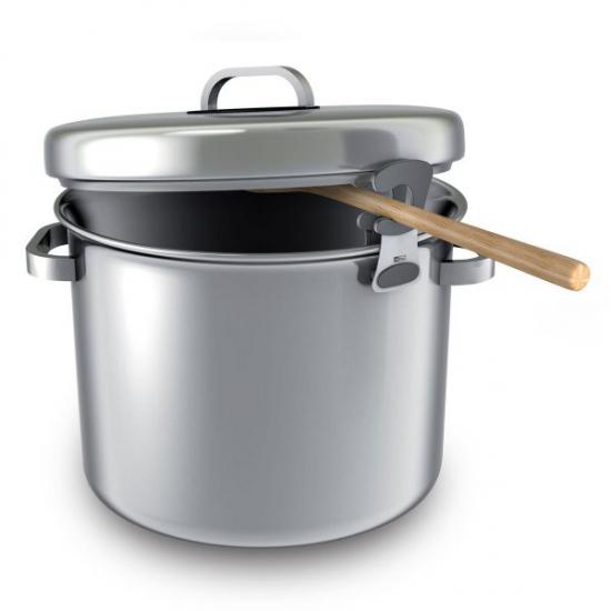 Держатель клипса для ложки Clipper Cooking Spoon Holder 2