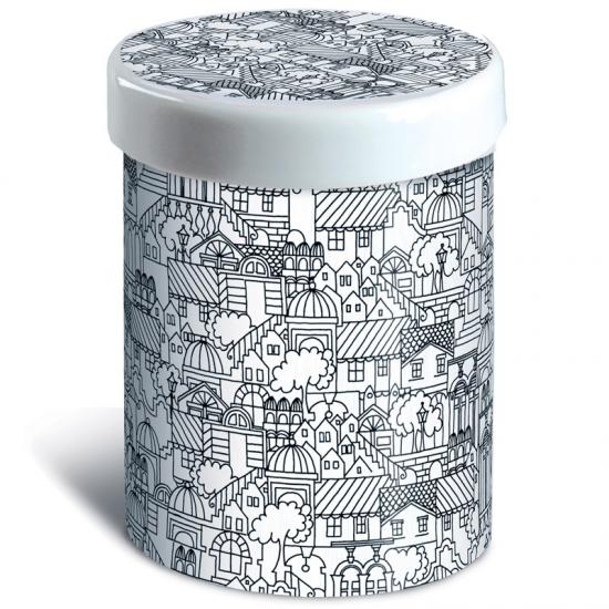 Емкость для хранения Porcelain Tins 17