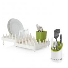 Комплект сушилка для посуды и столовых приборов Joseph Joseph Dock and Connect