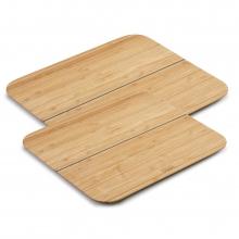 Комплект разделочных досок Joseph Joseph Chop2Pot™ Bamboo Small and Large