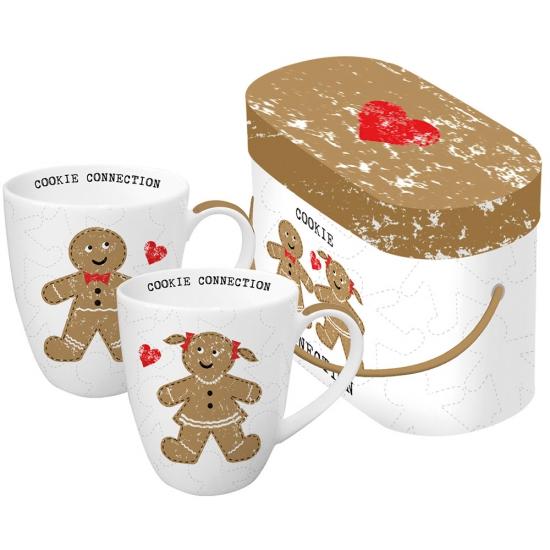 Набор кружек в подарочной коробке Cookie Connection 1