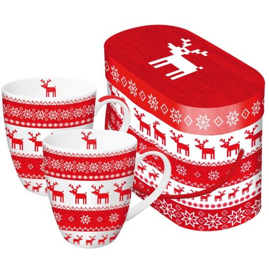 Набор кружек в подарочной коробке Magic Christmas 1