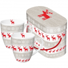 Набор кружек в подарочной коробке Magic Christmas