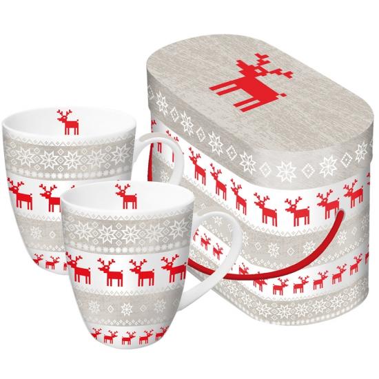 Набор кружек в подарочной коробке Magic Christmas 2