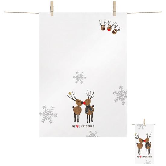 Полотенце кухонное We love Christmas 68х48 1