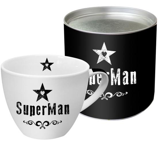 Кружка в подарочной упаковке SuperMan 1
