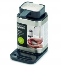 Диспенсер с металлическим мылом Joseph Joseph Surface™ Soap Pump & Bar Set