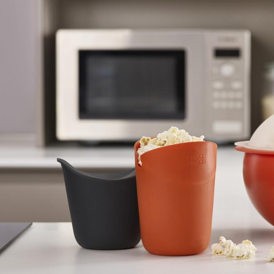 Стаканы для приготовления и подачи попкорна Joseph Joseph M-Cuisine Single-Portion Popcorn Makers 7