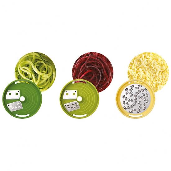 Спиральный слайсер для фигурной нарезки овощей Joseph Joseph Spiro™ Spiralizer 3