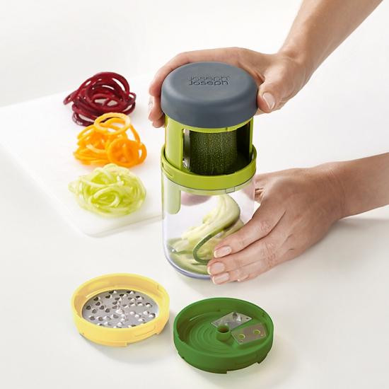 Спиральный слайсер для фигурной нарезки овощей Joseph Joseph Spiro™ Spiralizer 1