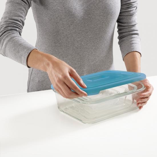 Стеклянные контейнеры для хранения продуктов Joseph Joseph Nest™ Glass Storage Set of 4 3