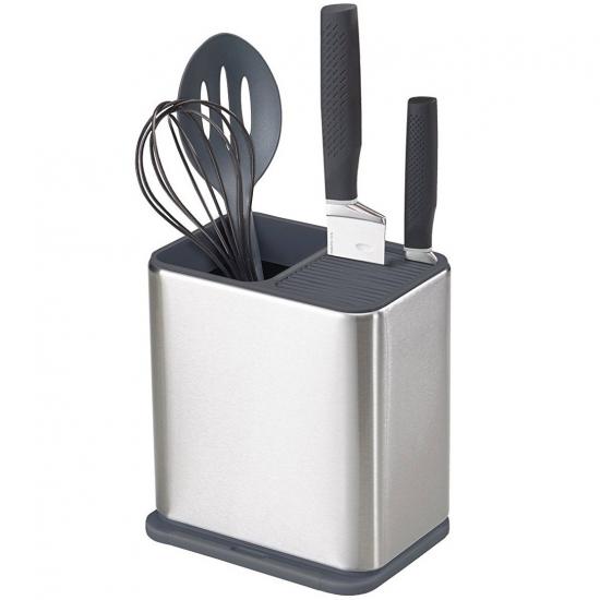 Органайзер для кухонных инструментов Joseph Joseph Surface™ Stainless Steel Knife & Utensil Pot 1