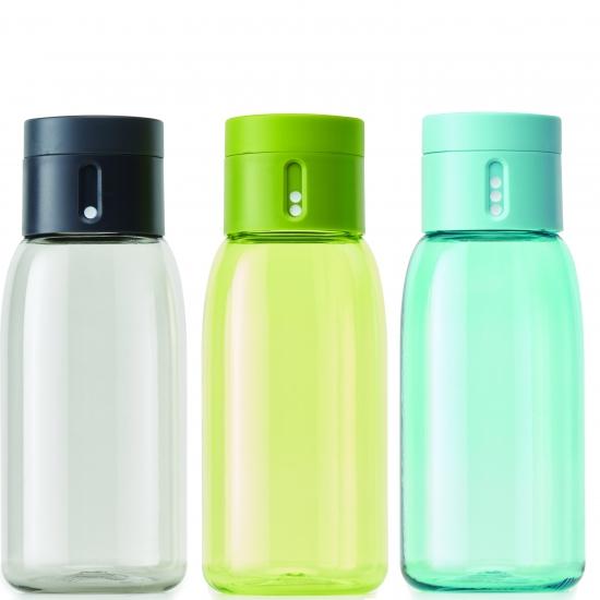 Бутылочка для воды со счетчиком количества выпитого объема Joseph Joseph Dot 400 ml 1