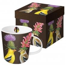 Кружка в подарочной коробке Goldfinch Couple