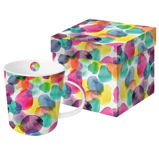 Кружка в подарочной коробке Aquarell Dots 1
