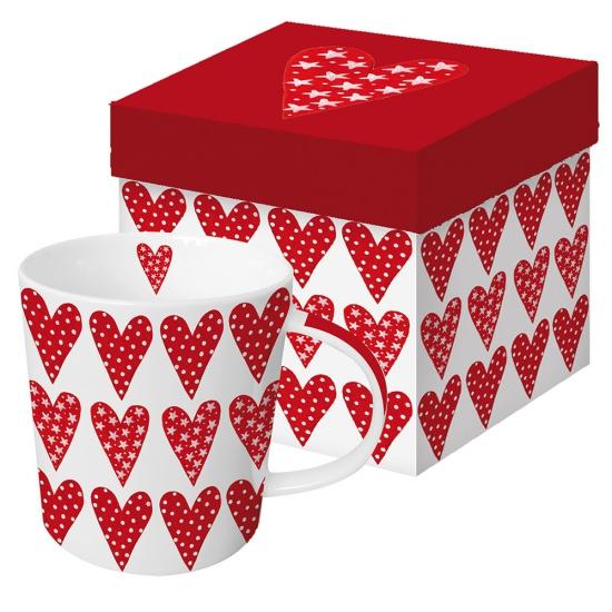 Кружка в подарочной коробке Lot of Love 1