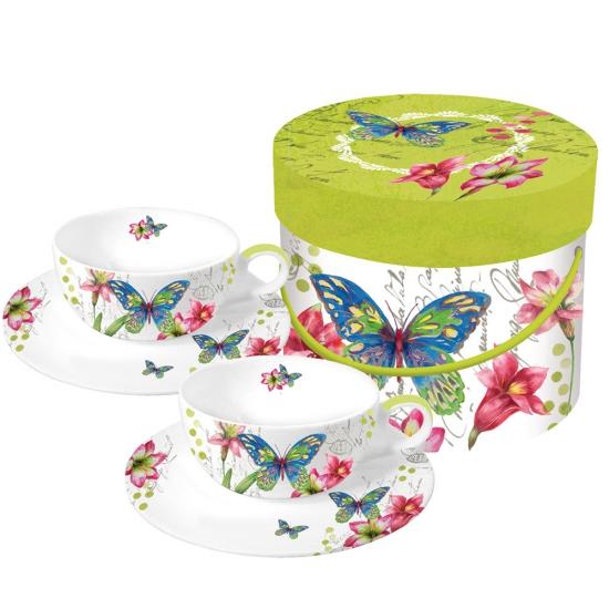 Набор чайных чашек в подарочной коробке Aporia 1