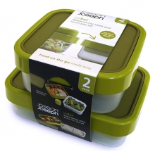 Набор из двух ланч-боксов Joseph Joseph  GoEat Twin Pack Salad and Lunch Box