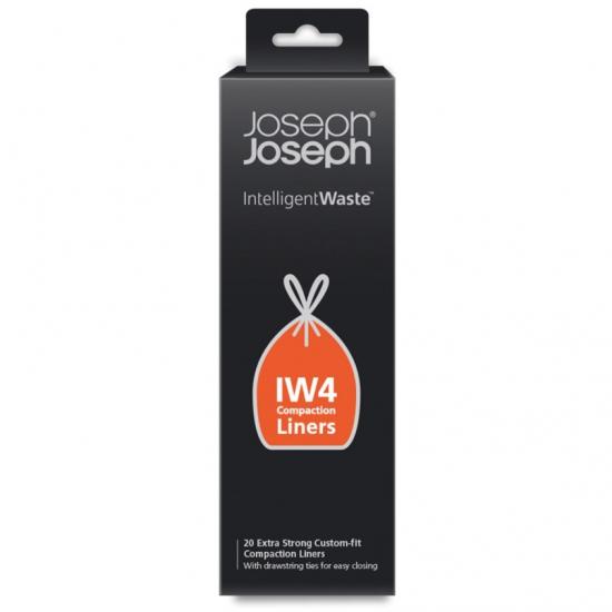 Набор экстра-прочных пакетов для мусора Joseph Joseph IW4 30L 1