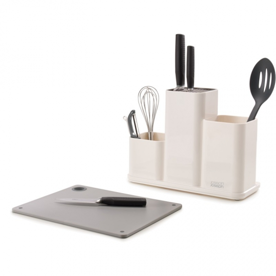 Органайзер с разделочной доской Joseph Joseph CounterStore™ Utensil Organizer with Board 4