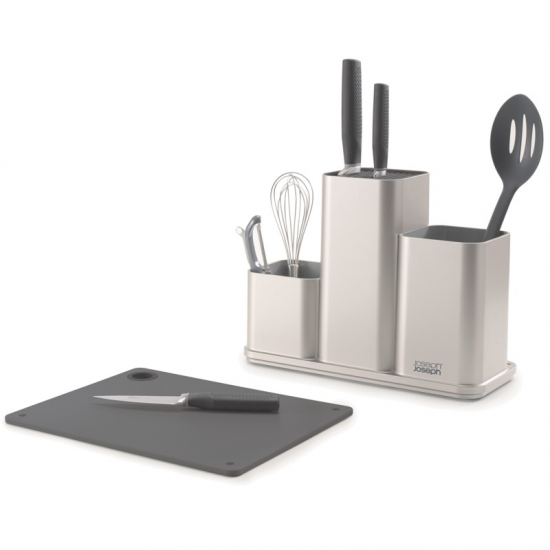 Органайзер с разделочной доской Joseph Joseph CounterStore™ Utensil Organizer with Board 8
