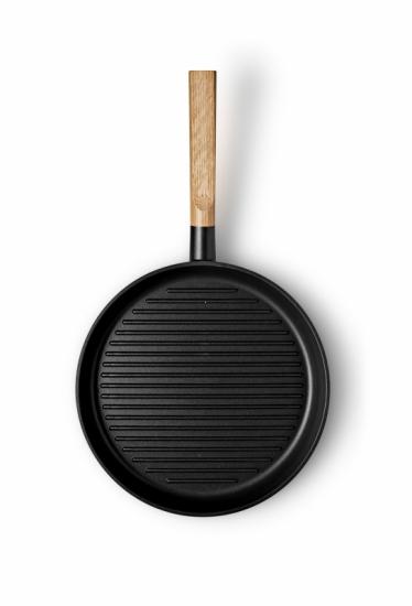 Сковорода-гриль Nordic Kitchen Ø28 4
