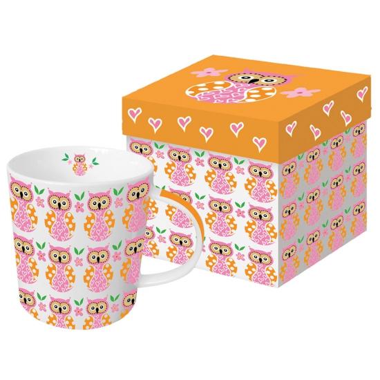 Кружка в подарочной коробке Owl Family 350 ml 1