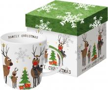 Кружка в подарочной упаковке Family Christmas 350 ml