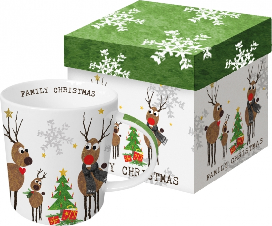 Кружка в подарочной упаковке Family Christmas 350 ml 1